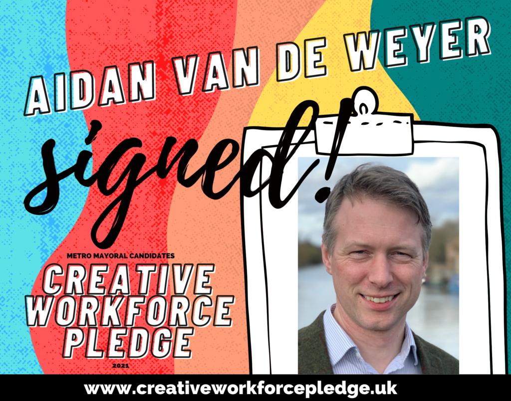 Aidan Van De Weyer (C&P, Lib Dem) signed