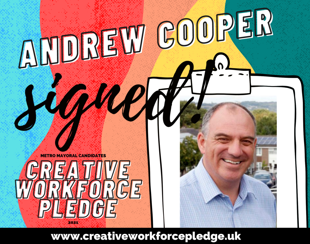 Andrew Cooper (West Yorkshire, Green) signed