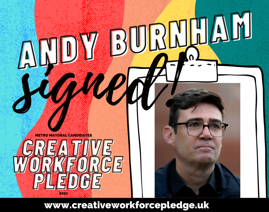 Andy Burnham (Greater Manchester, Labour) signed