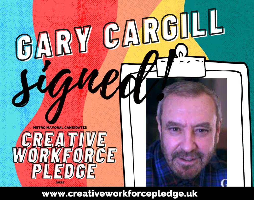 Gary Cargill (Liverpool, Green) signed