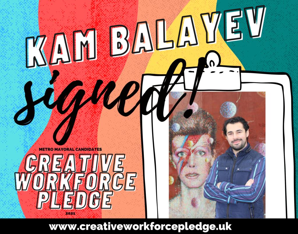 Kam Balayev (London, Renew) signed