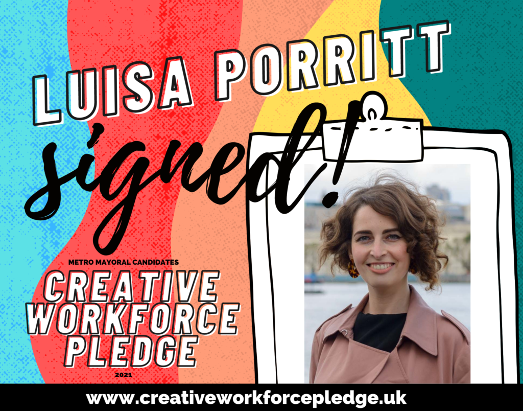 Luisa Porritt (London Lib Dem) signed