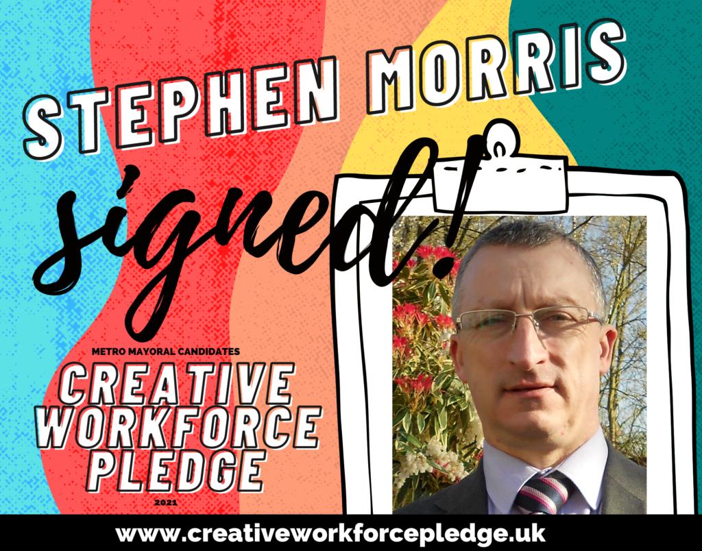 Stephen Morris (Greater Manchester, Eng Demo) signed